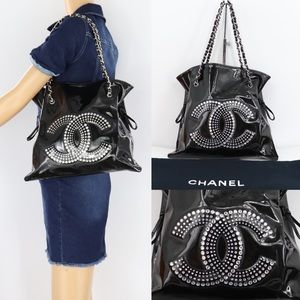 🌺✨Rhinestones✨🌺 Chanel tote